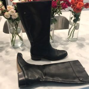 Corso Como 8.5 black knee high boots
